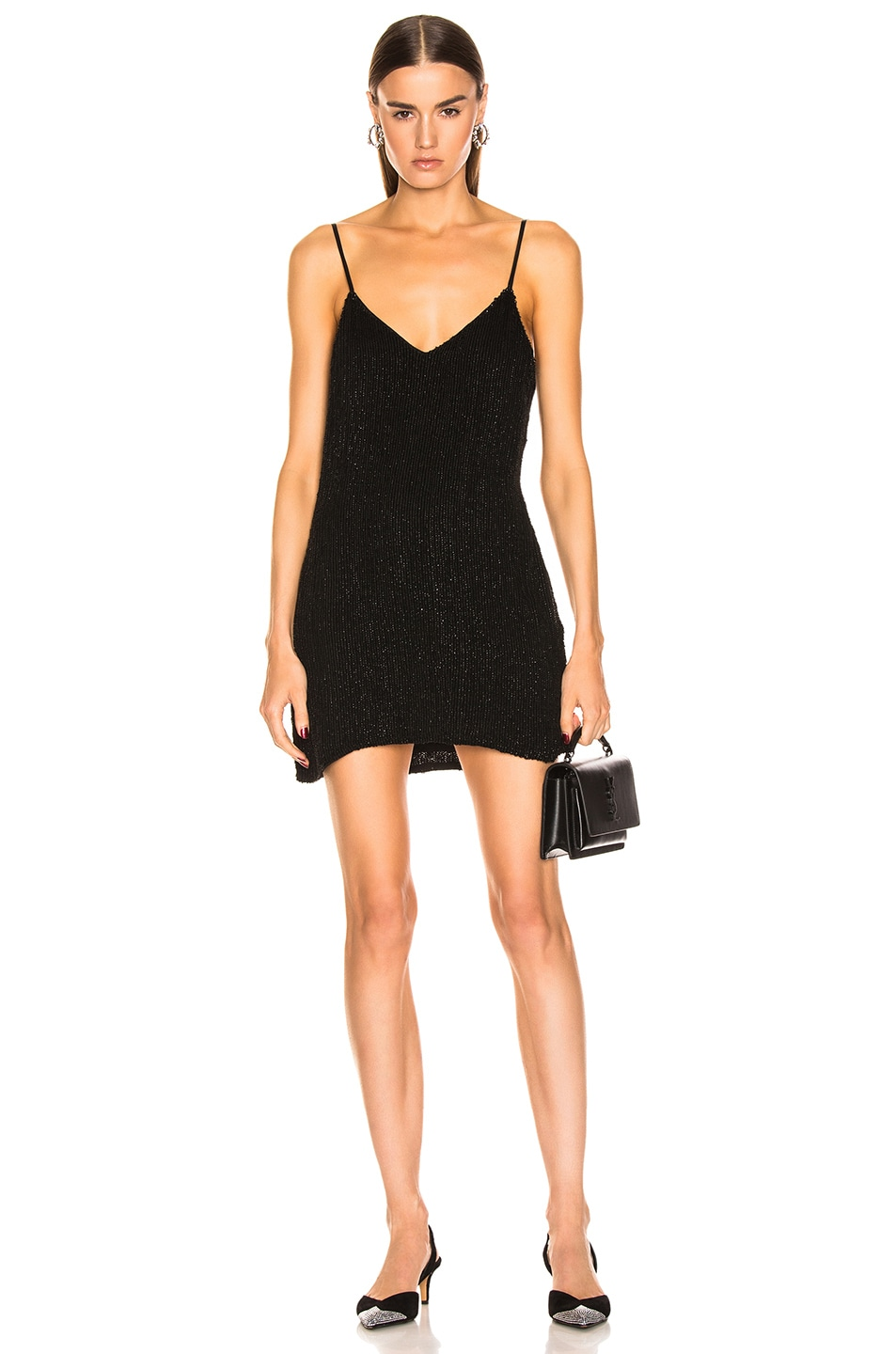 Image 1 of retrofete Claire Dress in Black