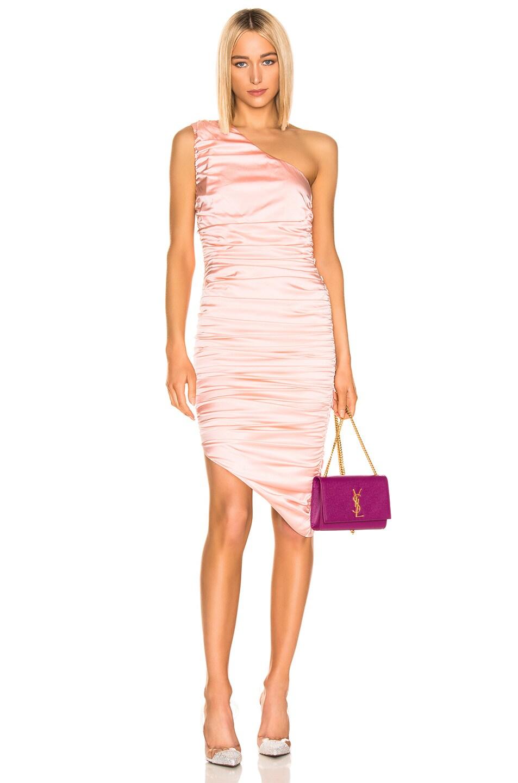 Image 1 of retrofete Piper Dress in Blush