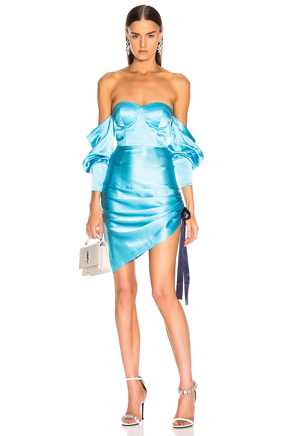 Image 1 of retrofete Cori Dress in Light Blue