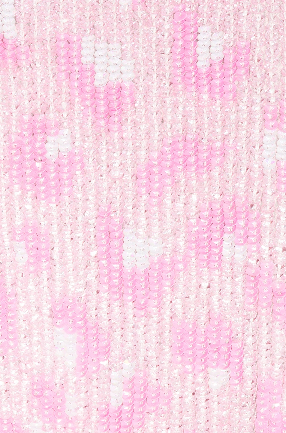 Image 4 of retrofete for FWRD Gabrielle Robe Dress in Baby Pink Leopard