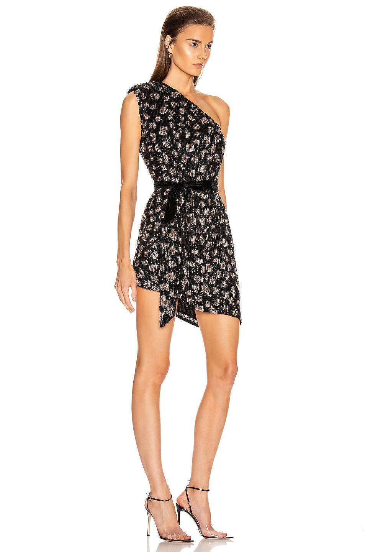 Image 2 of retrofete Ella Dress in Black Leopard