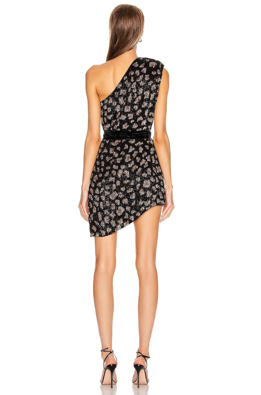 Image 4 of retrofete Ella Dress in Black Leopard