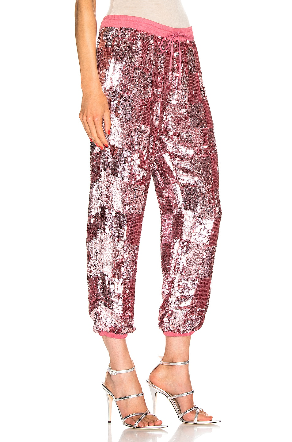 Image 2 of retrofete Stacia Jogger in Pastel Pink