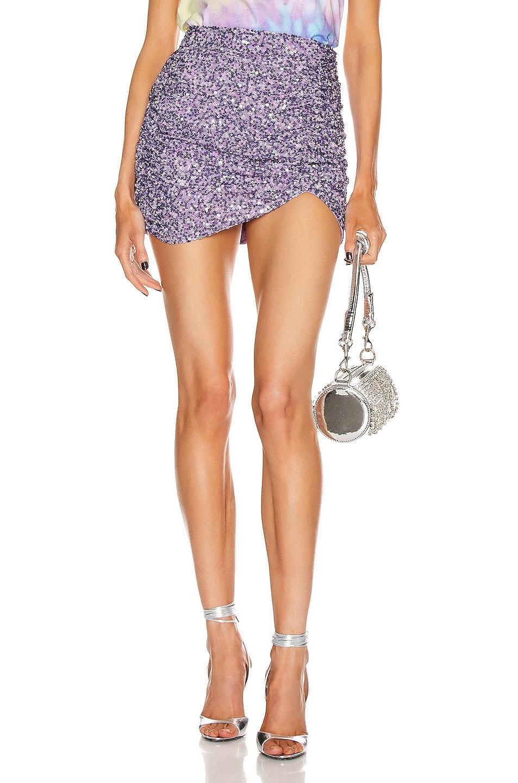 Image 1 of retrofete Celestia Skirt in Lilac
