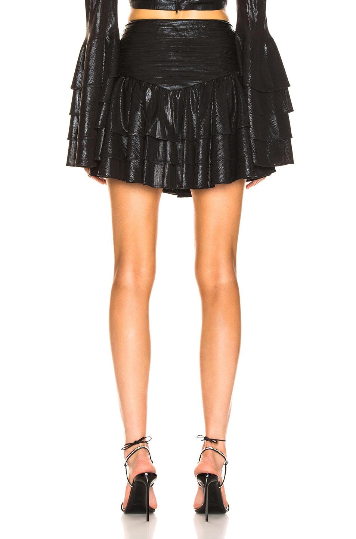 Image 3 of retrofete Maisie Skirt in Black