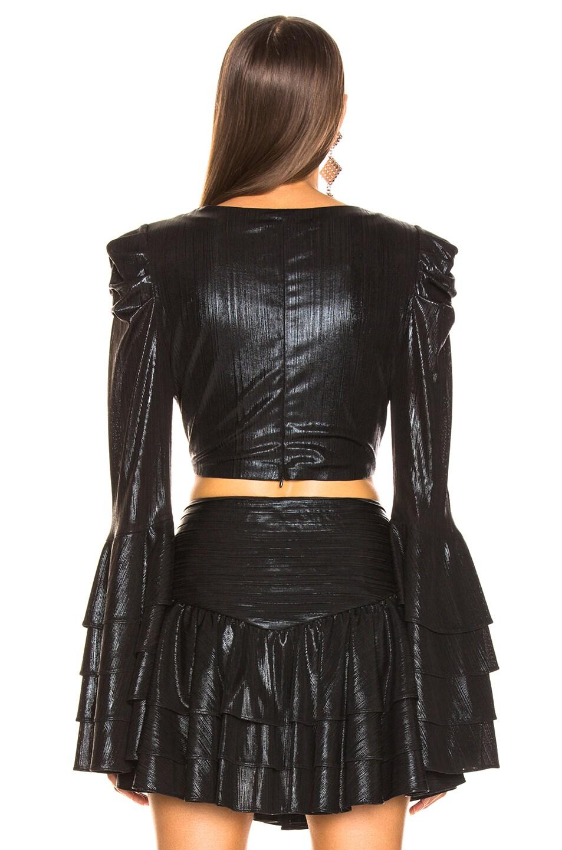Image 3 of retrofete Lydia Top in Black