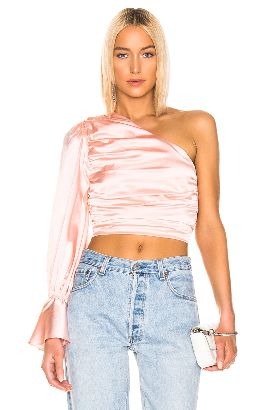 Image 1 of retrofete Rylie Top in Blush