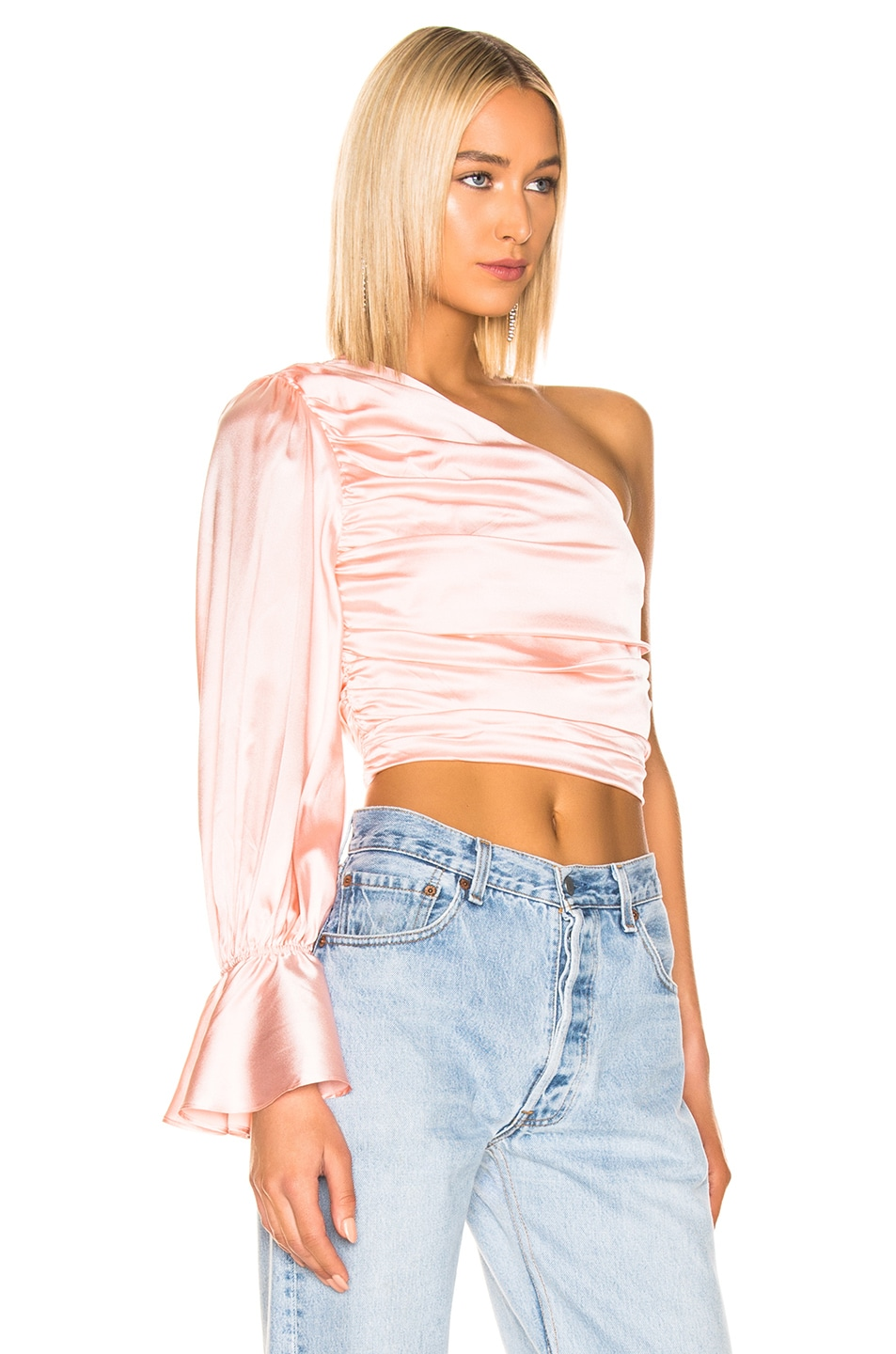 Image 2 of retrofete Rylie Top in Blush
