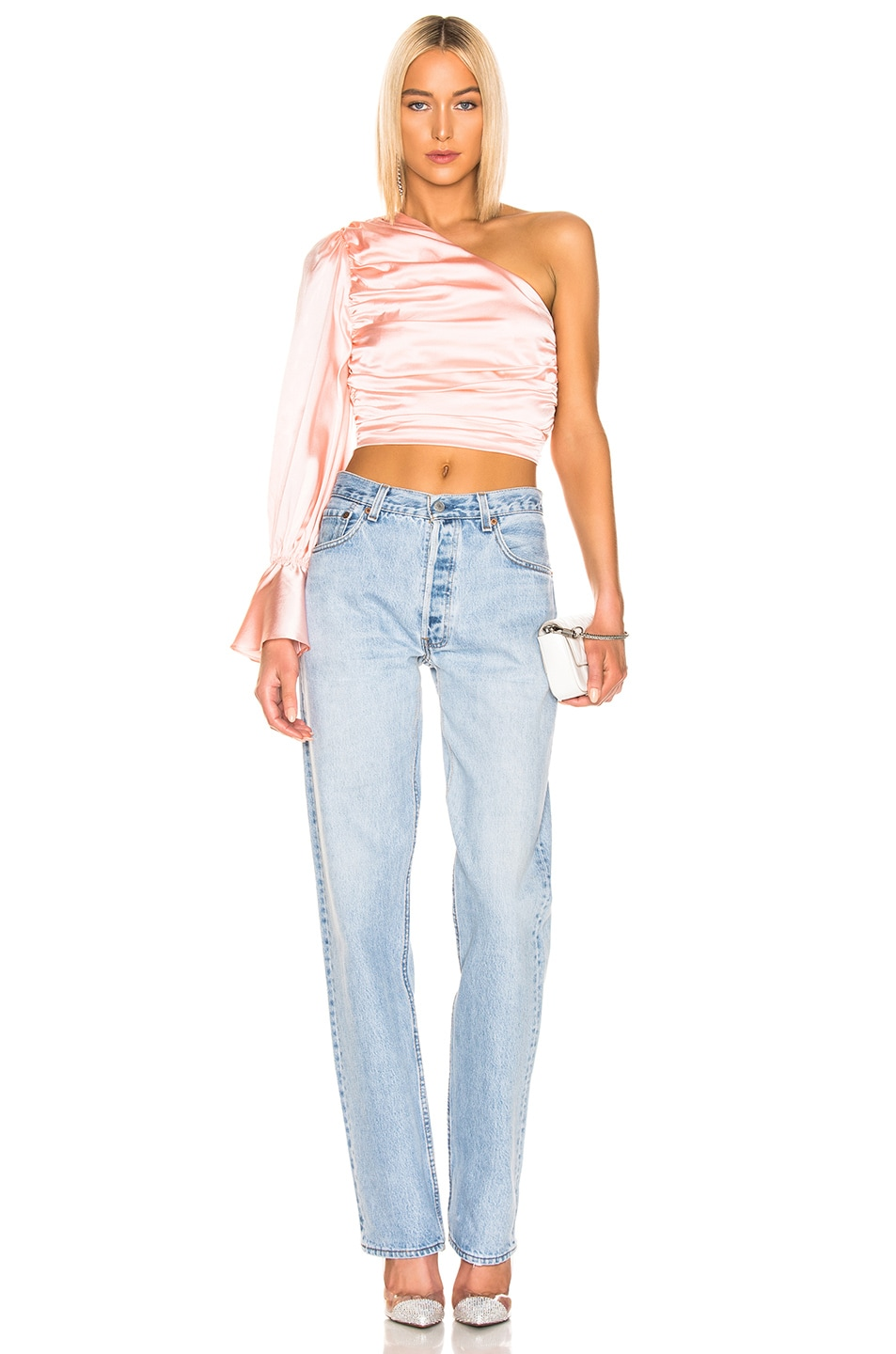 Image 5 of retrofete Rylie Top in Blush