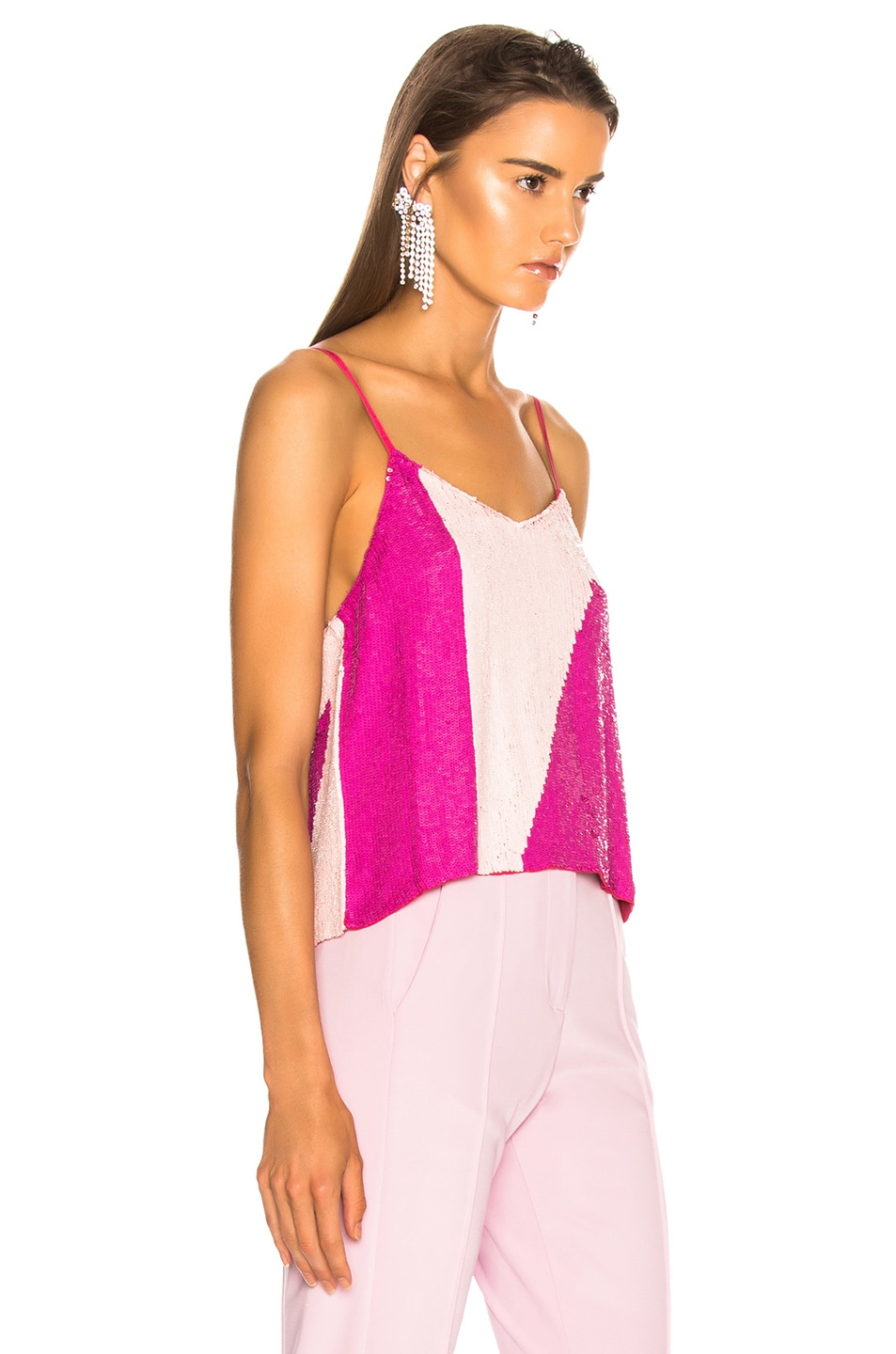 Image 2 of retrofete for FWRD Sandra Tank in Pink Mix