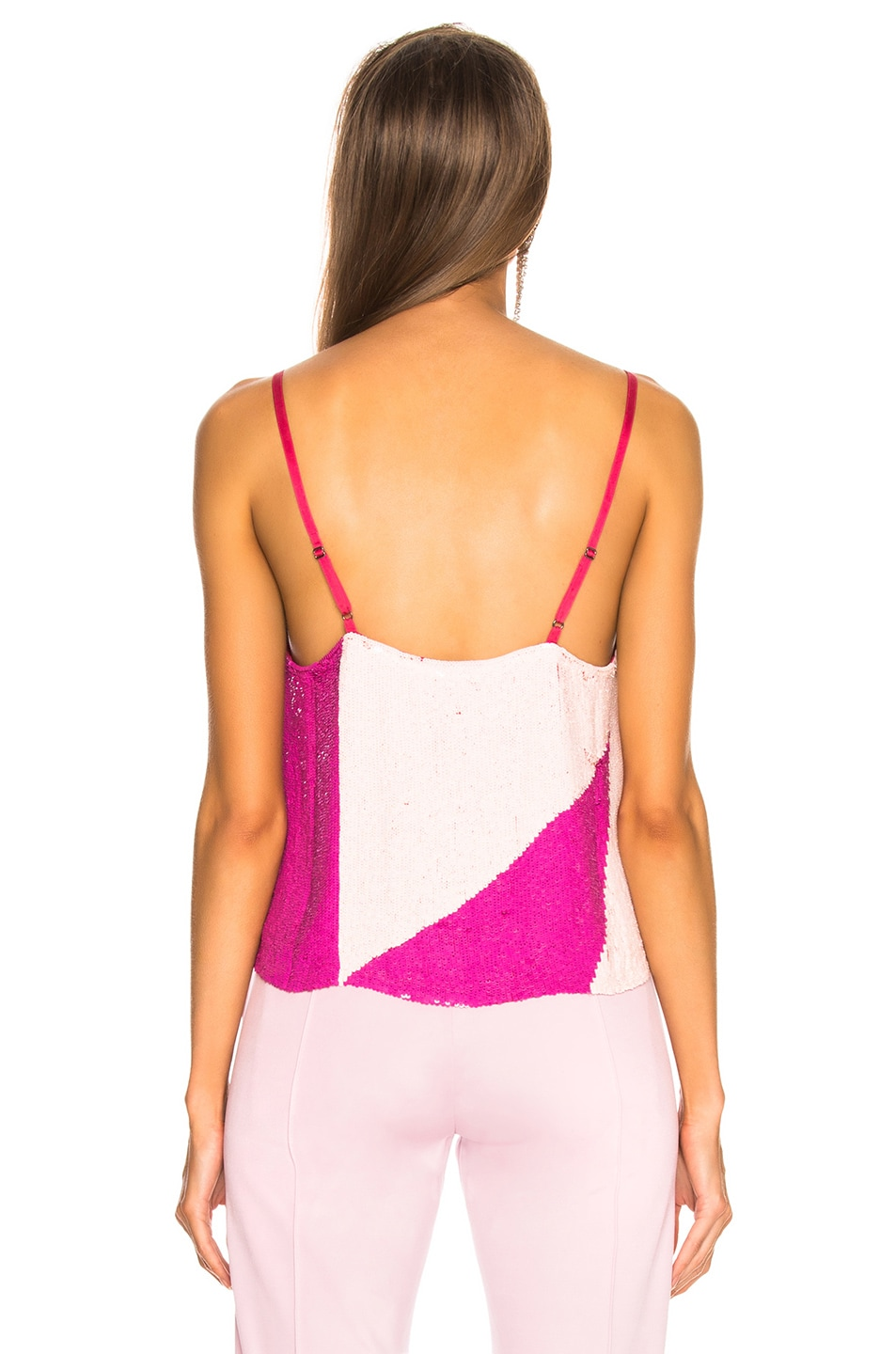 Image 4 of retrofete for FWRD Sandra Tank in Pink Mix