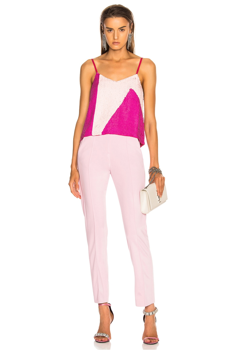Image 5 of retrofete for FWRD Sandra Tank in Pink Mix