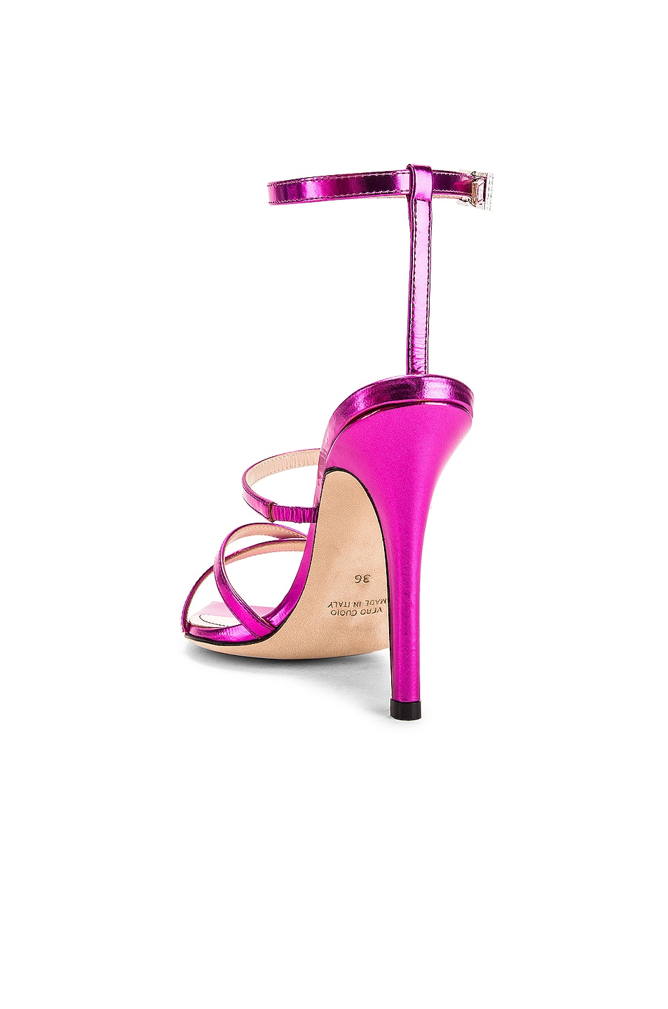 Image 3 of retrofete OS Sandal in Hot Pink
