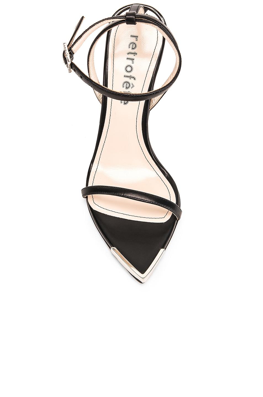 Image 4 of retrofete SY Sandal in Black