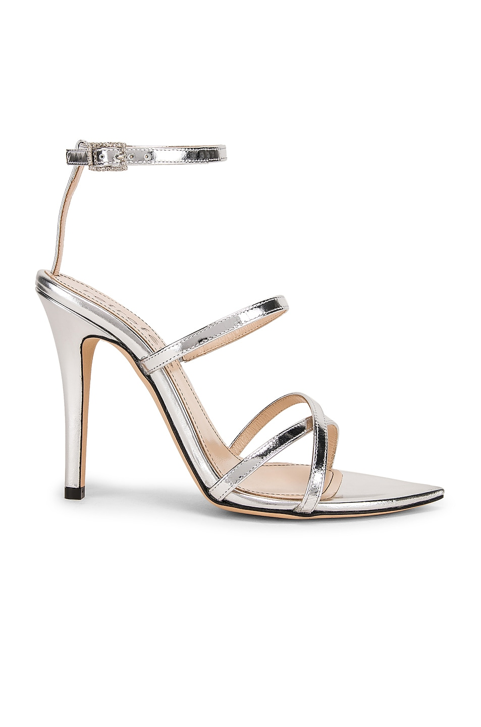 Image 1 of retrofete OS Sandal in Silver
