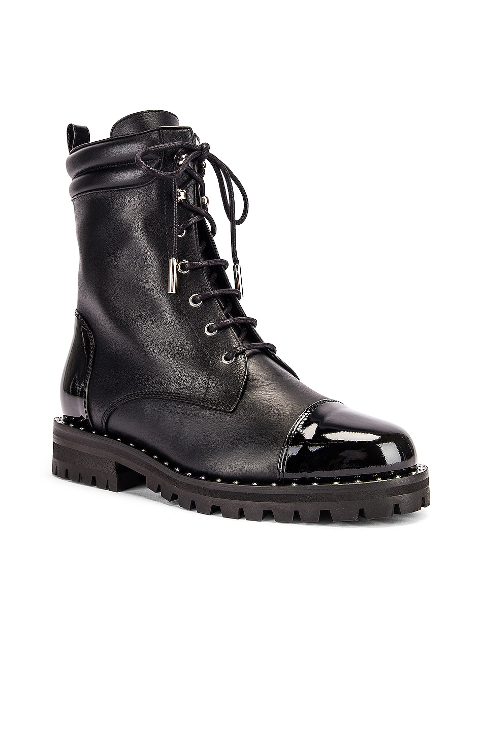 Image 2 of retrofete JM Combat Boot in Black