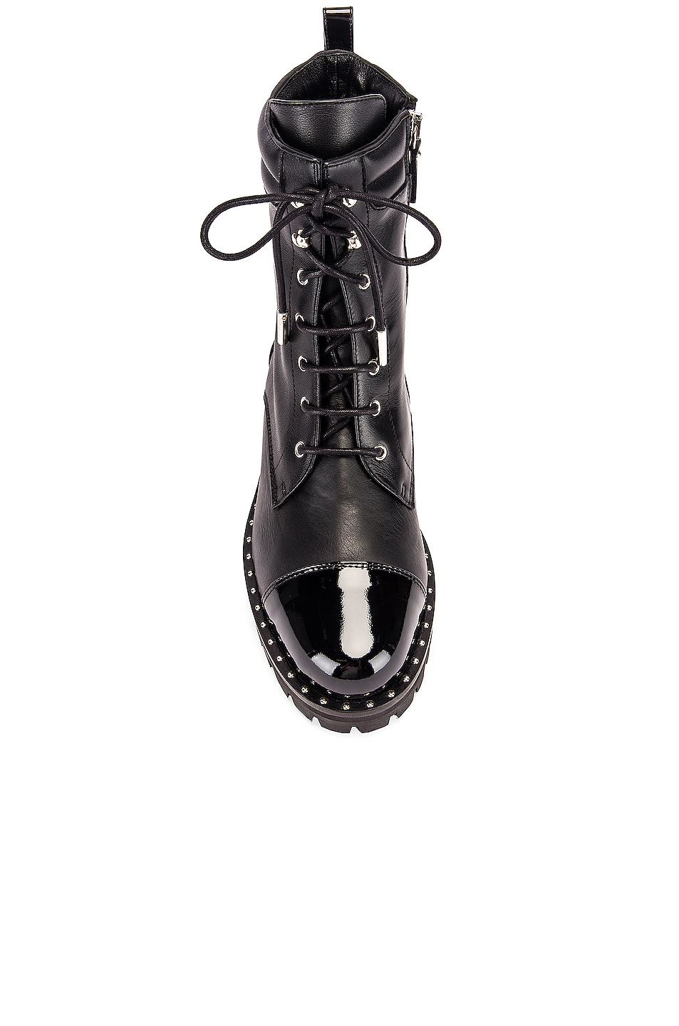 Image 4 of retrofete JM Combat Boot in Black