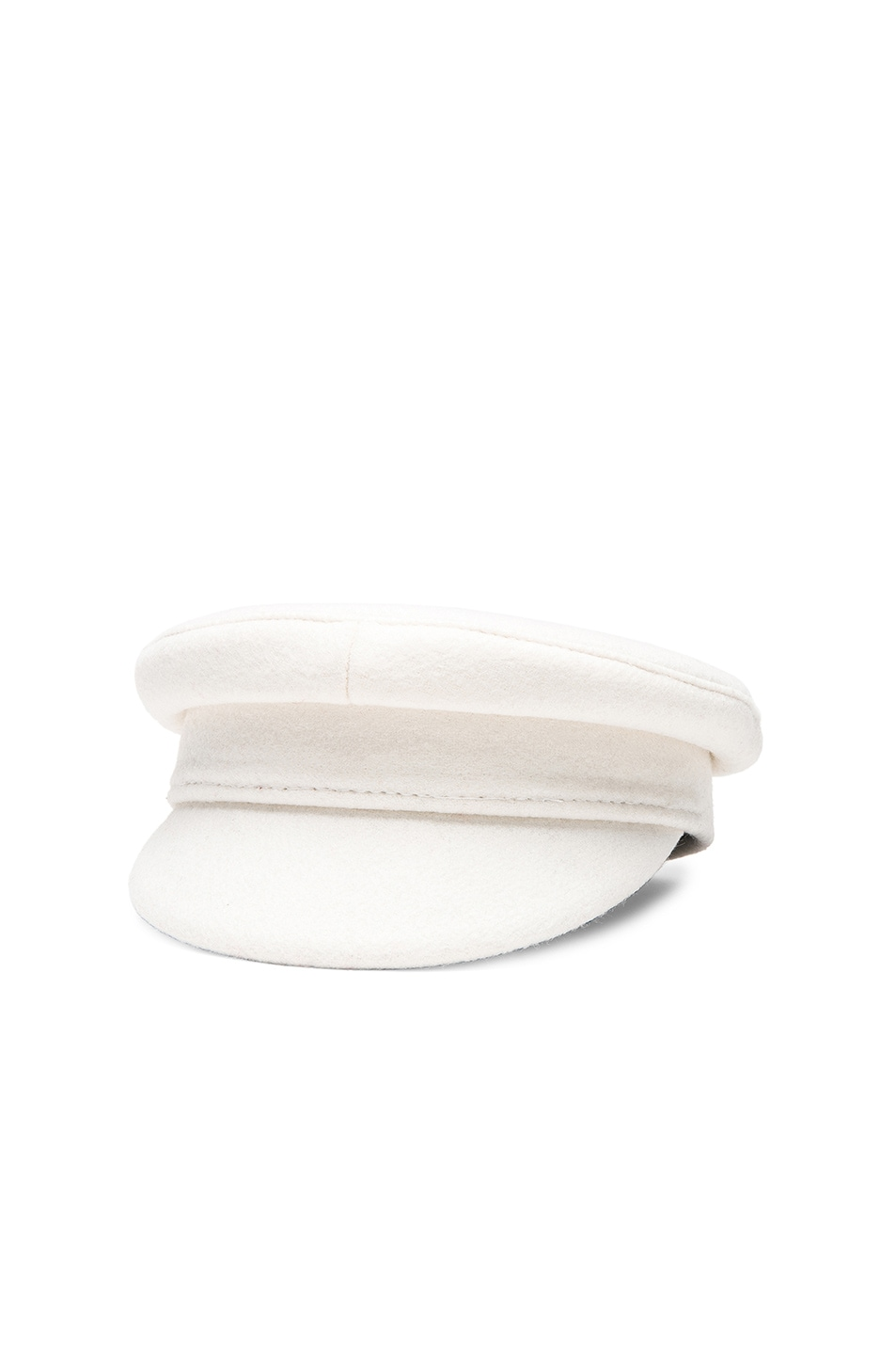 Image 2 of Ruslan Baginskiy Baker Boy Cap in White