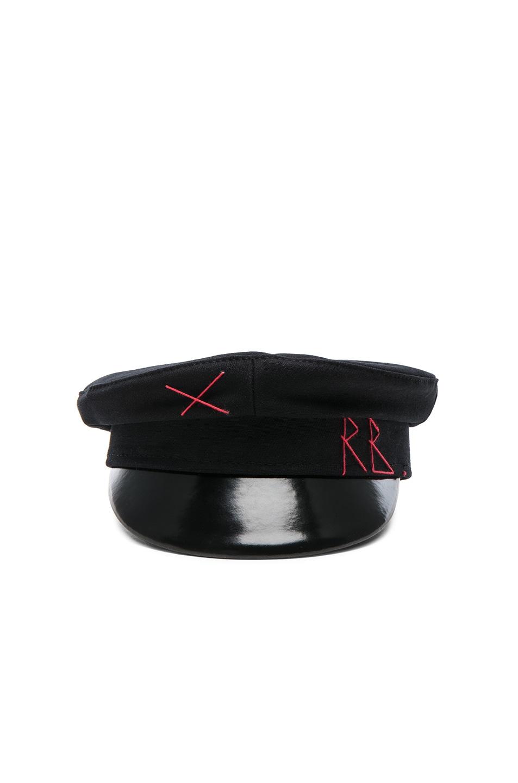 d560ae4f4 Ruslan Baginskiy Baker Boy Cap in Black | FWRD