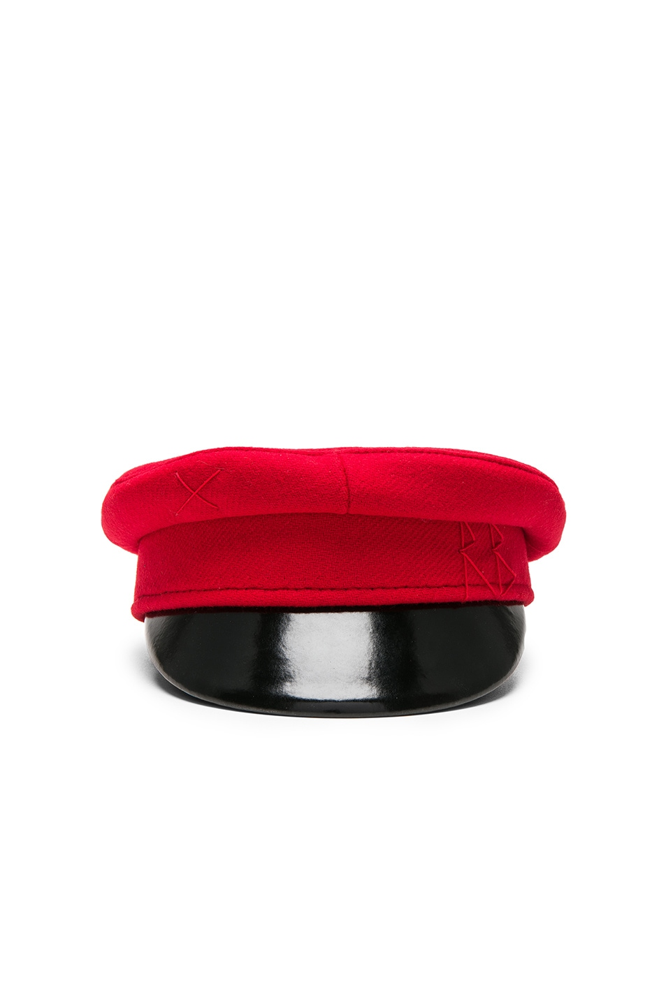 Image 1 of Ruslan Baginskiy Baker Boy Cap in Red