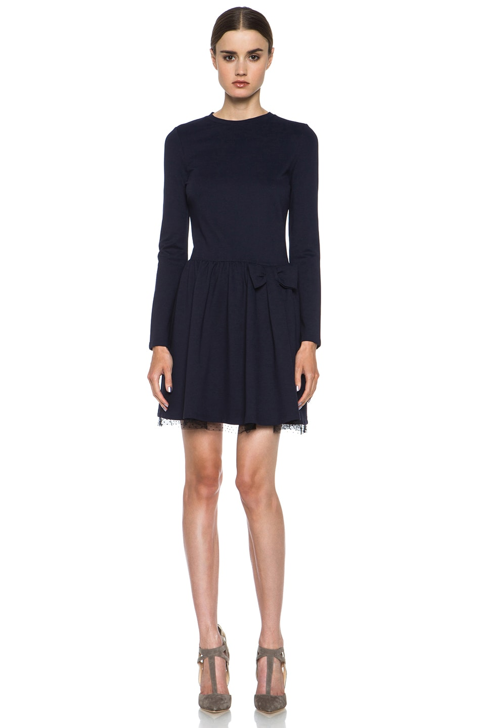 Image 1 of Red Valentino Dress in Navy
