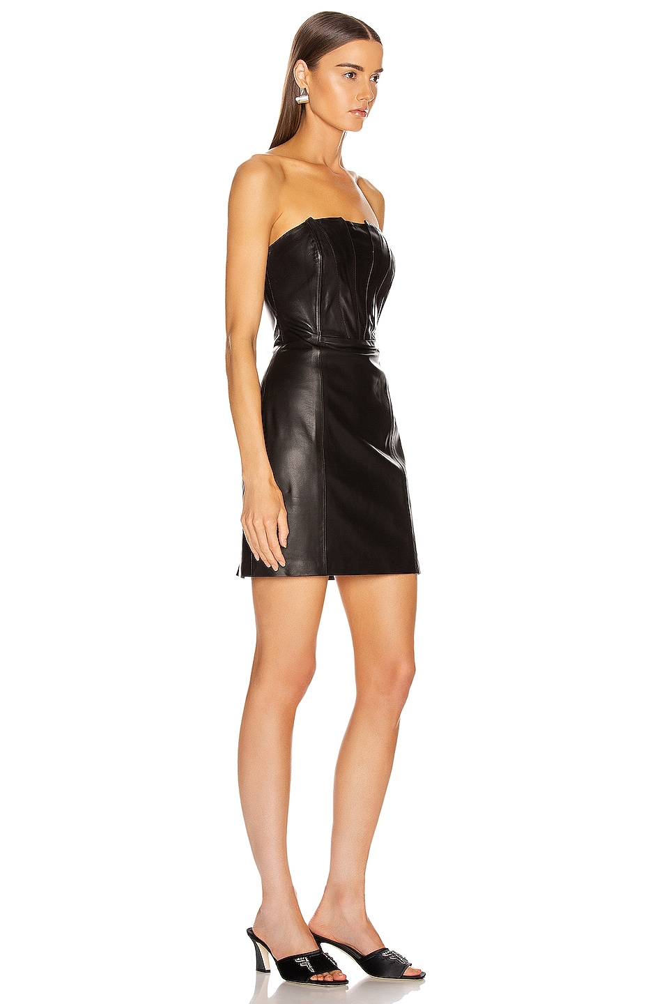 Image 2 of SABLYN Willow Strapless Dress in Black