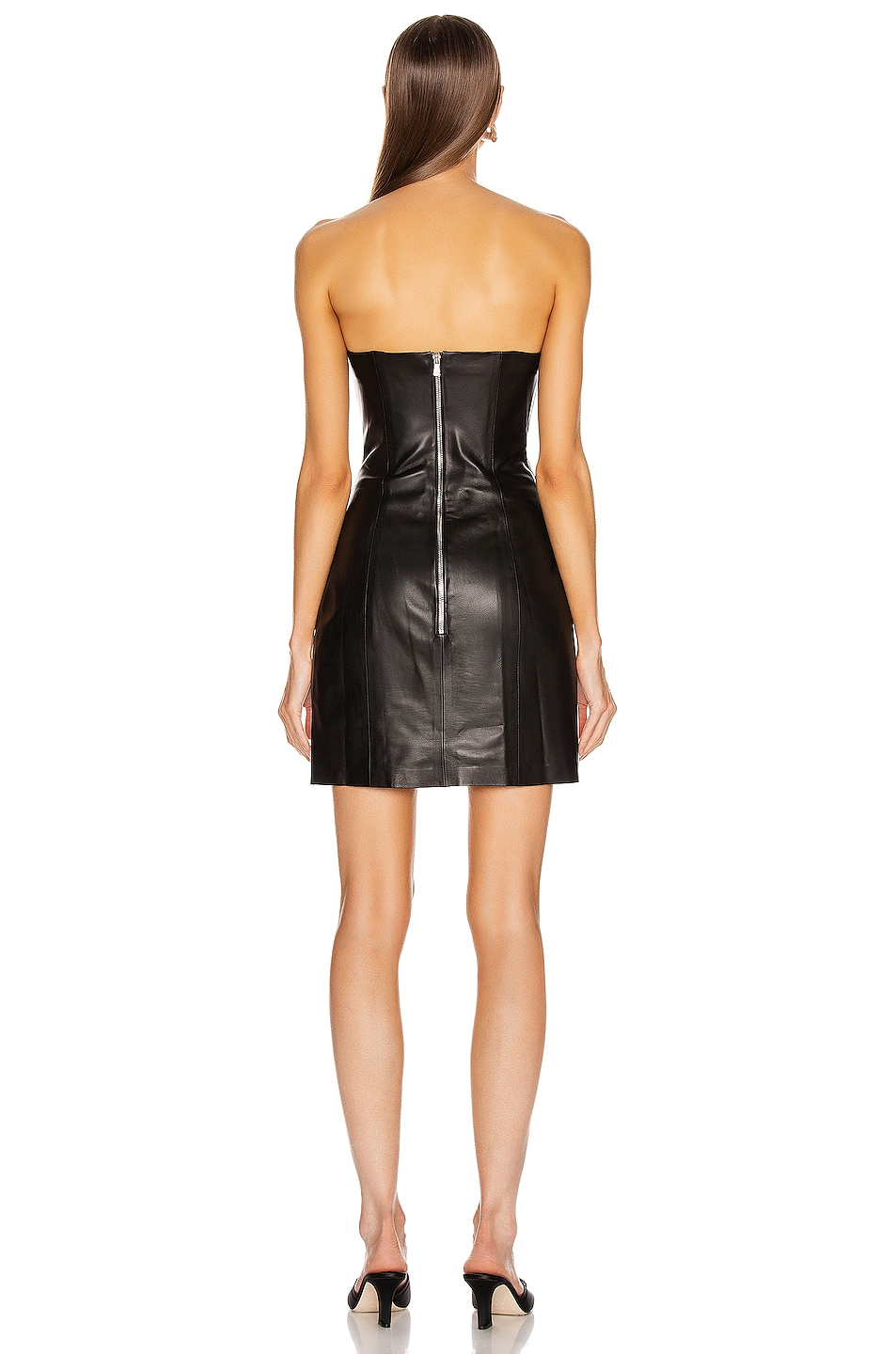Image 3 of SABLYN Willow Strapless Dress in Black