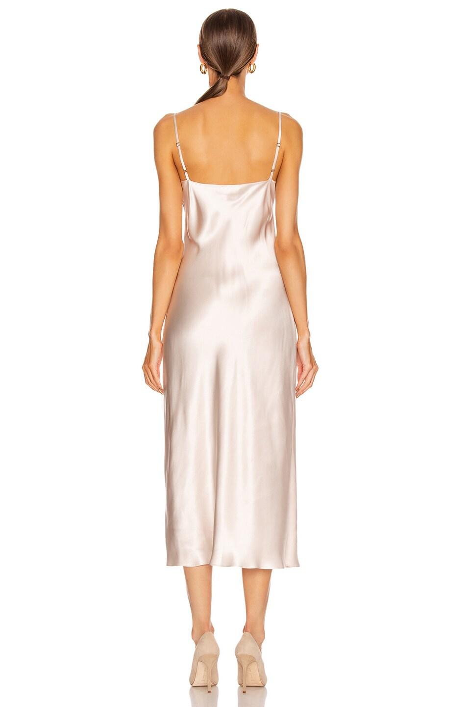 Image 3 of SABLYN Taylor Slip Dress in Powder