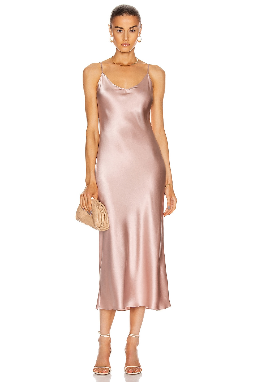 Image 1 of SABLYN Taylor Slip Dress in Cherry Blossom