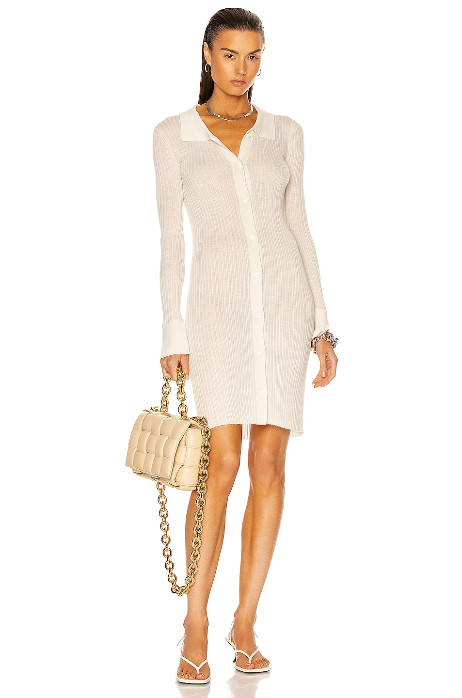 Image 1 of SABLYN Bea Dress in White