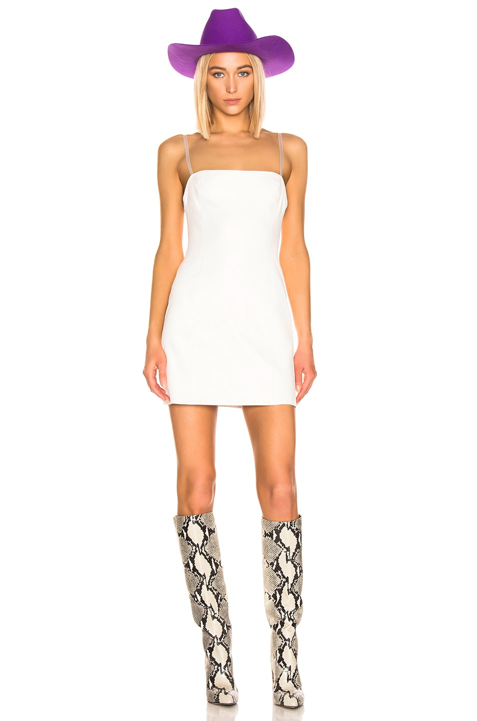 Image 1 of SABLYN Mira Mini Dress in White