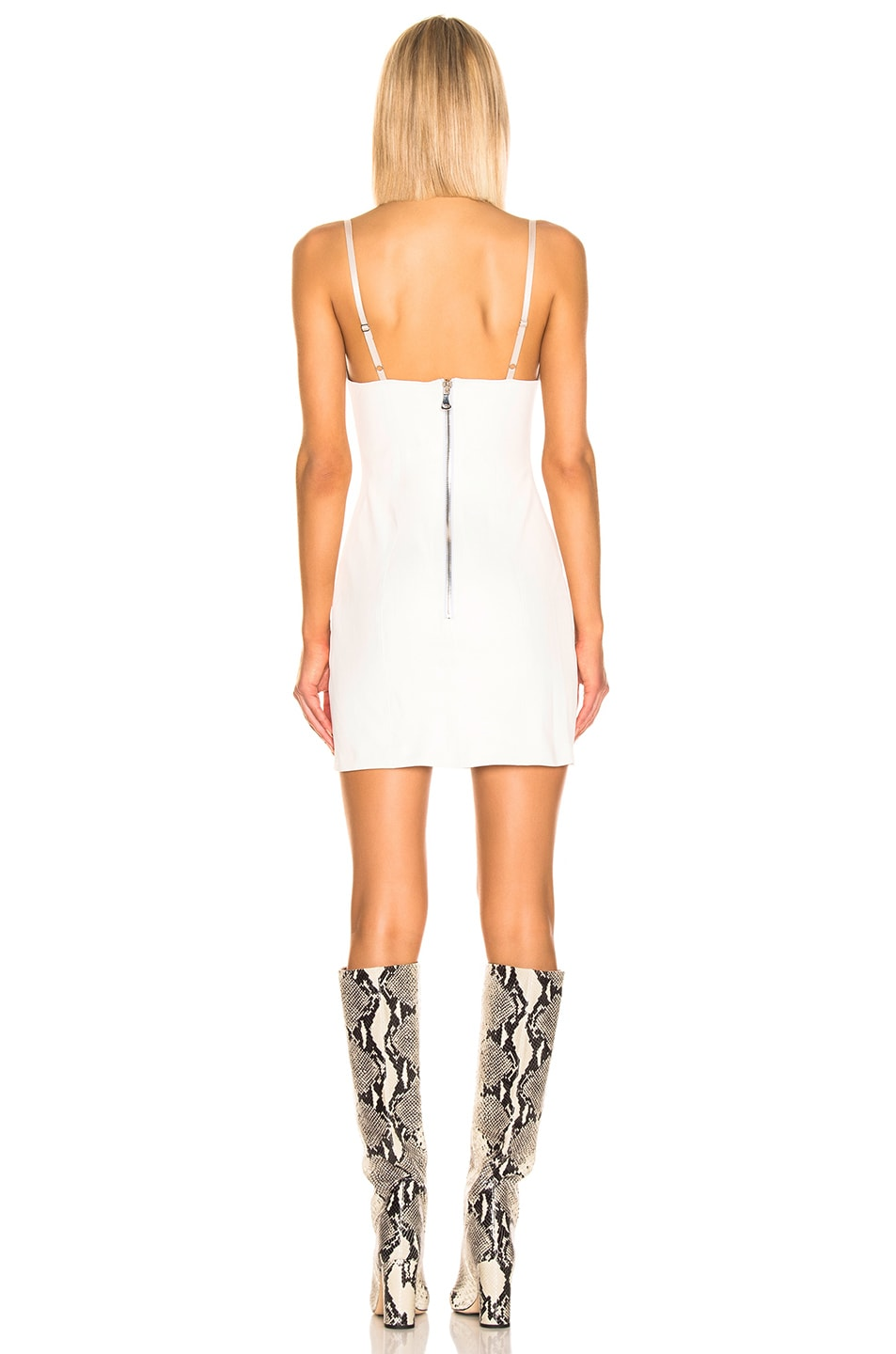 Image 3 of SABLYN Mira Mini Dress in White