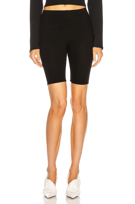 Image 1 of SABLYN Rowen Biker Short in Black