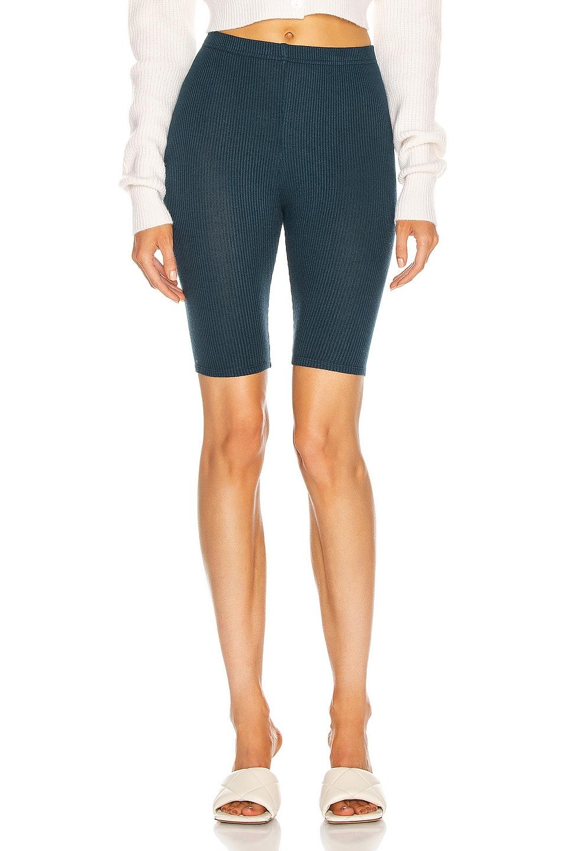 Image 1 of SABLYN Rowen Biker Short in Topaz
