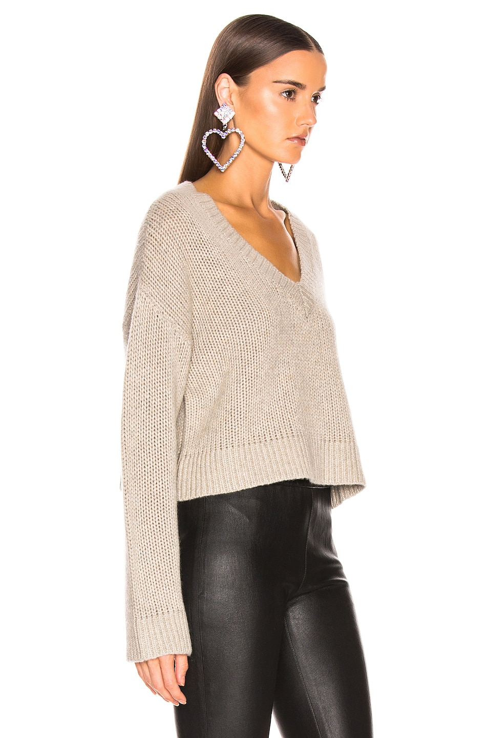 Image 2 of SABLYN Cali Sweater in Taupe