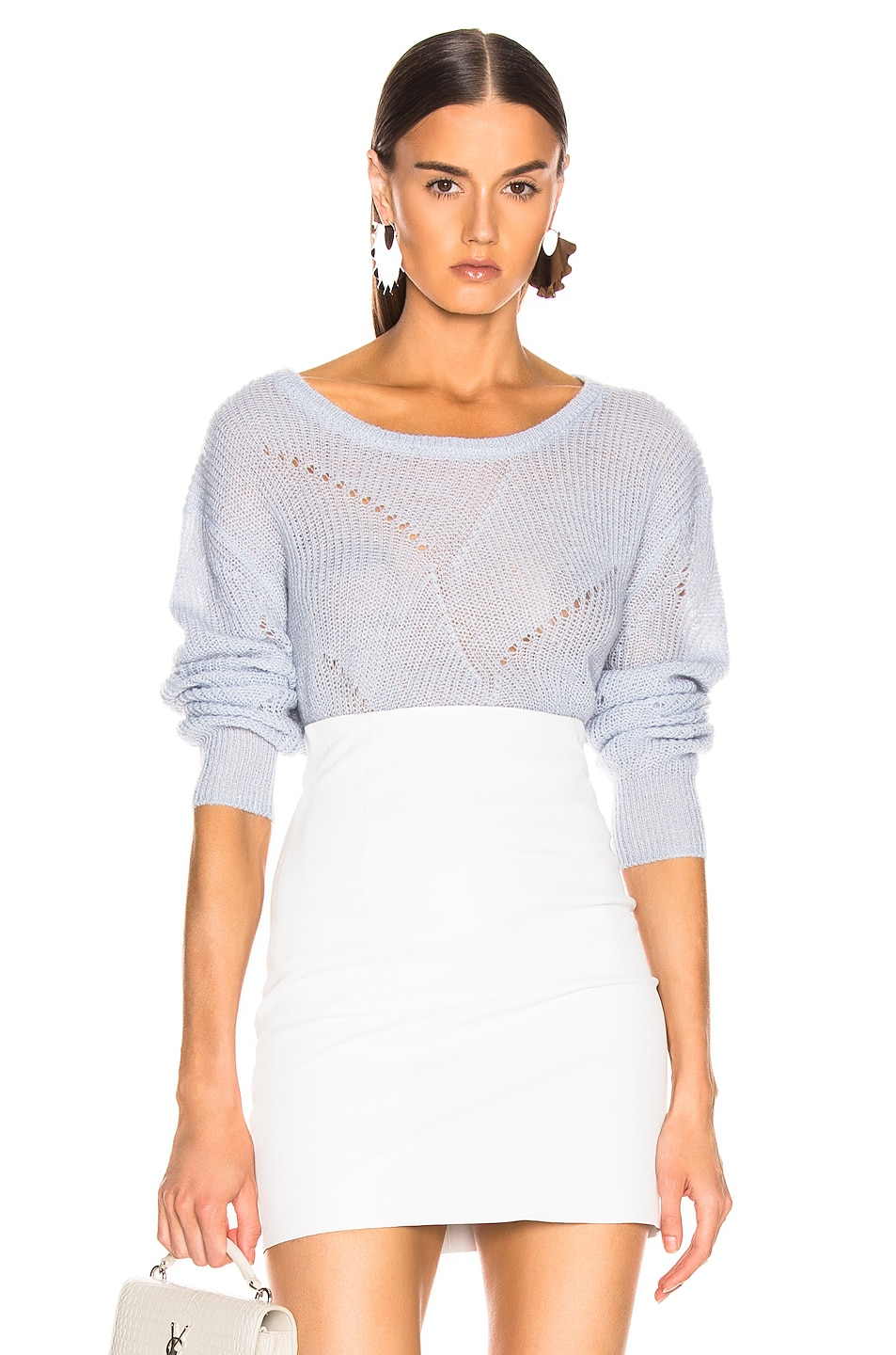 Image 1 of SABLYN Violet Sweater in Ice