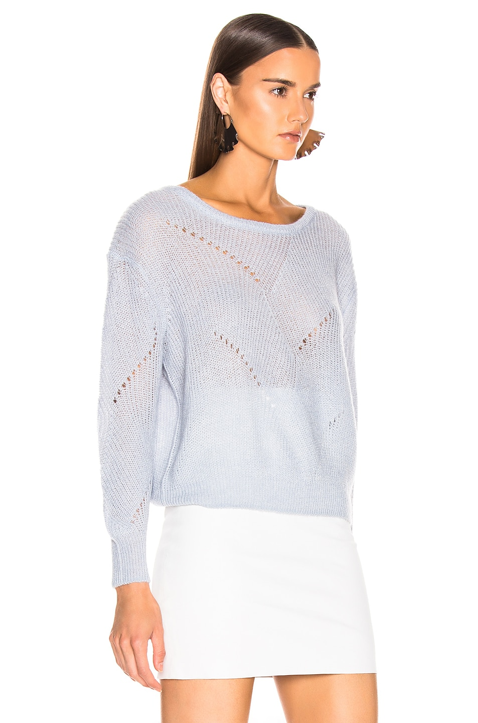 Image 2 of SABLYN Violet Sweater in Ice