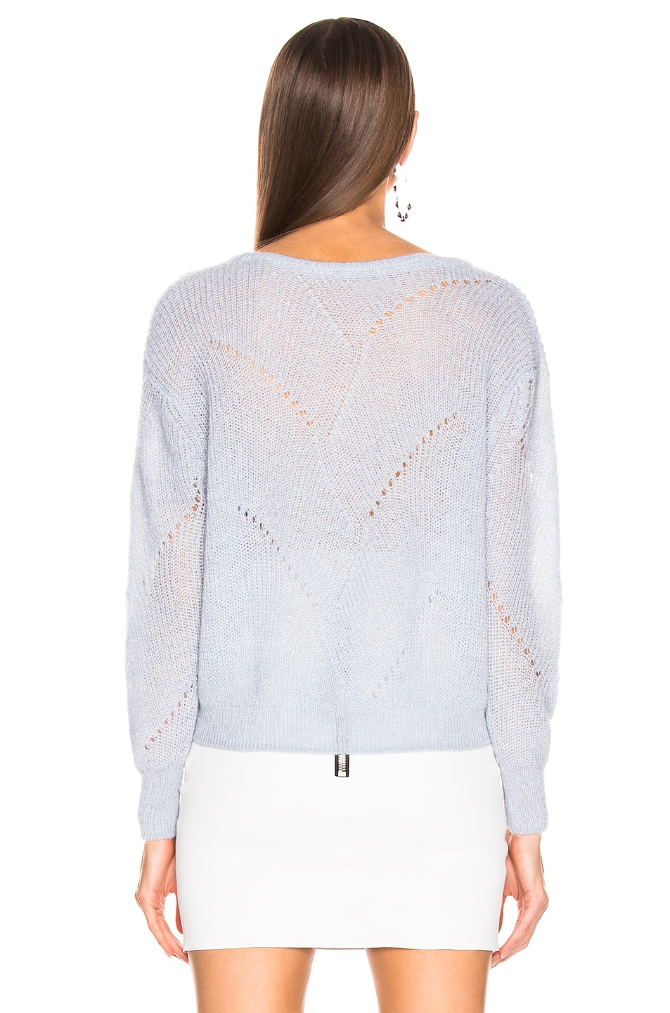 Image 3 of SABLYN Violet Sweater in Ice