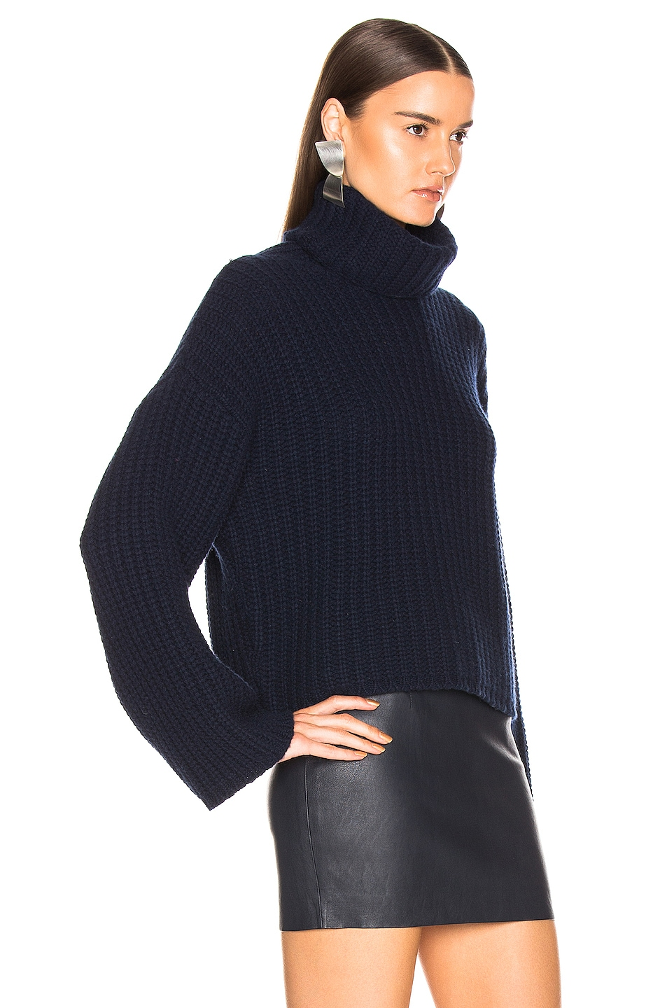 Image 2 of SABLYN Sunny Sweater in Navy