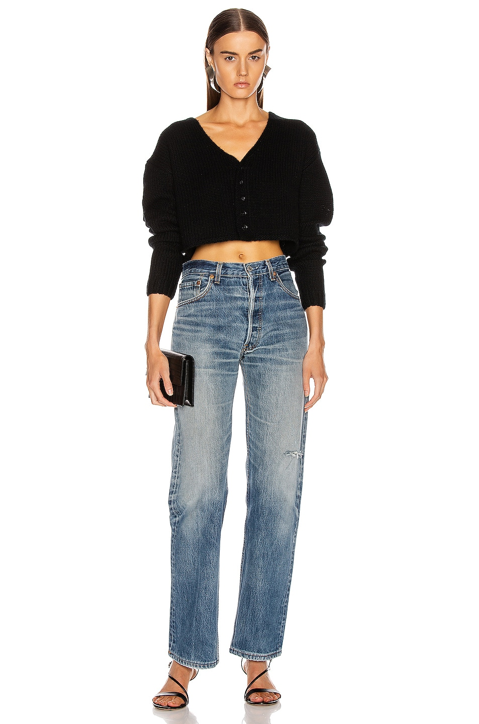 Image 4 of SABLYN Bianco Sweater in Black