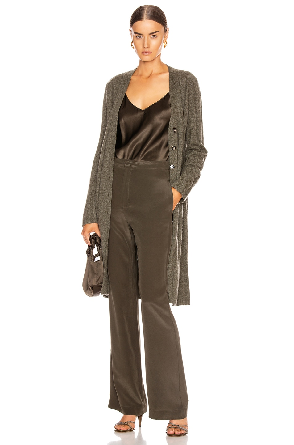 Image 1 of SABLYN Cory Cardigan in Olive
