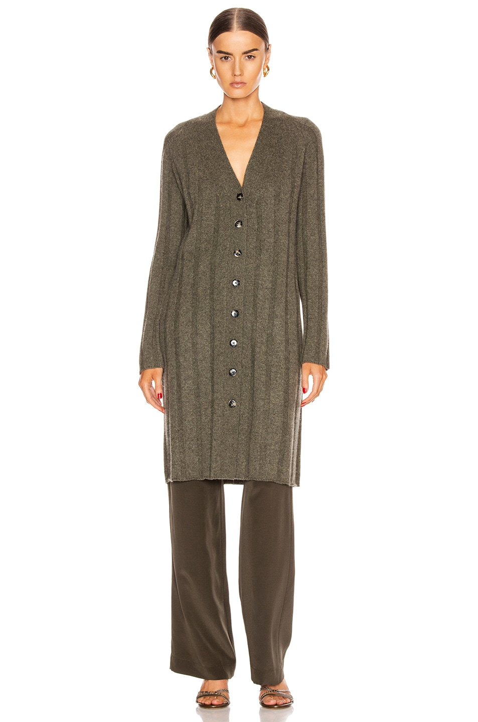 Image 2 of SABLYN Cory Cardigan in Olive
