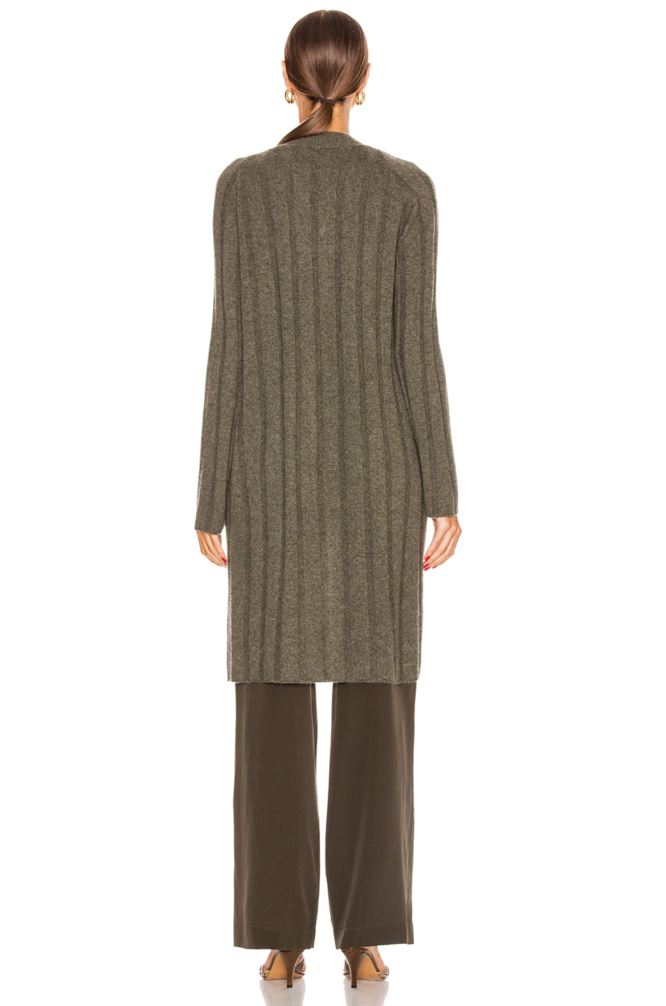 Image 4 of SABLYN Cory Cardigan in Olive