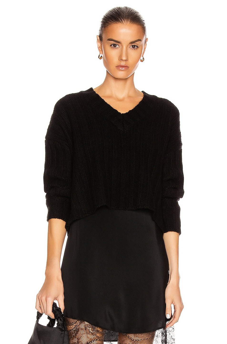 Image 1 of SABLYN Dominique Sweater in Black