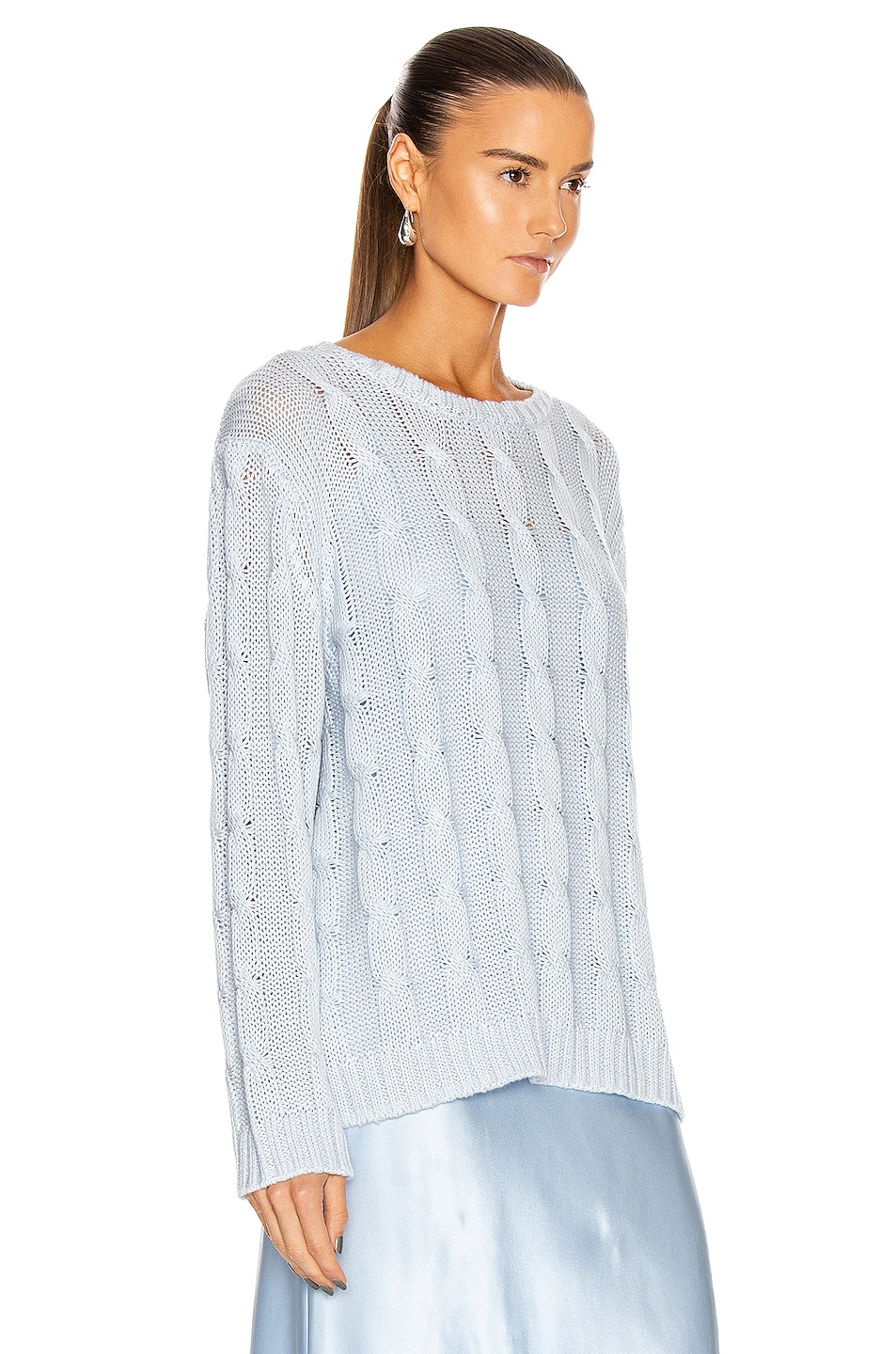 Image 2 of SABLYN Cassidy Sweater in Azure