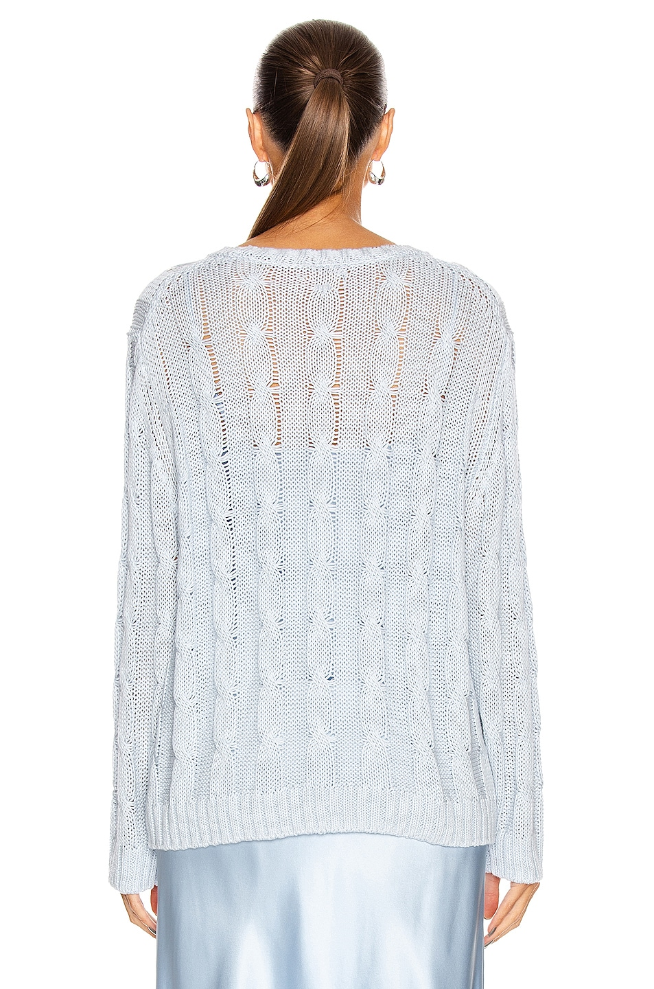 Image 3 of SABLYN Cassidy Sweater in Azure