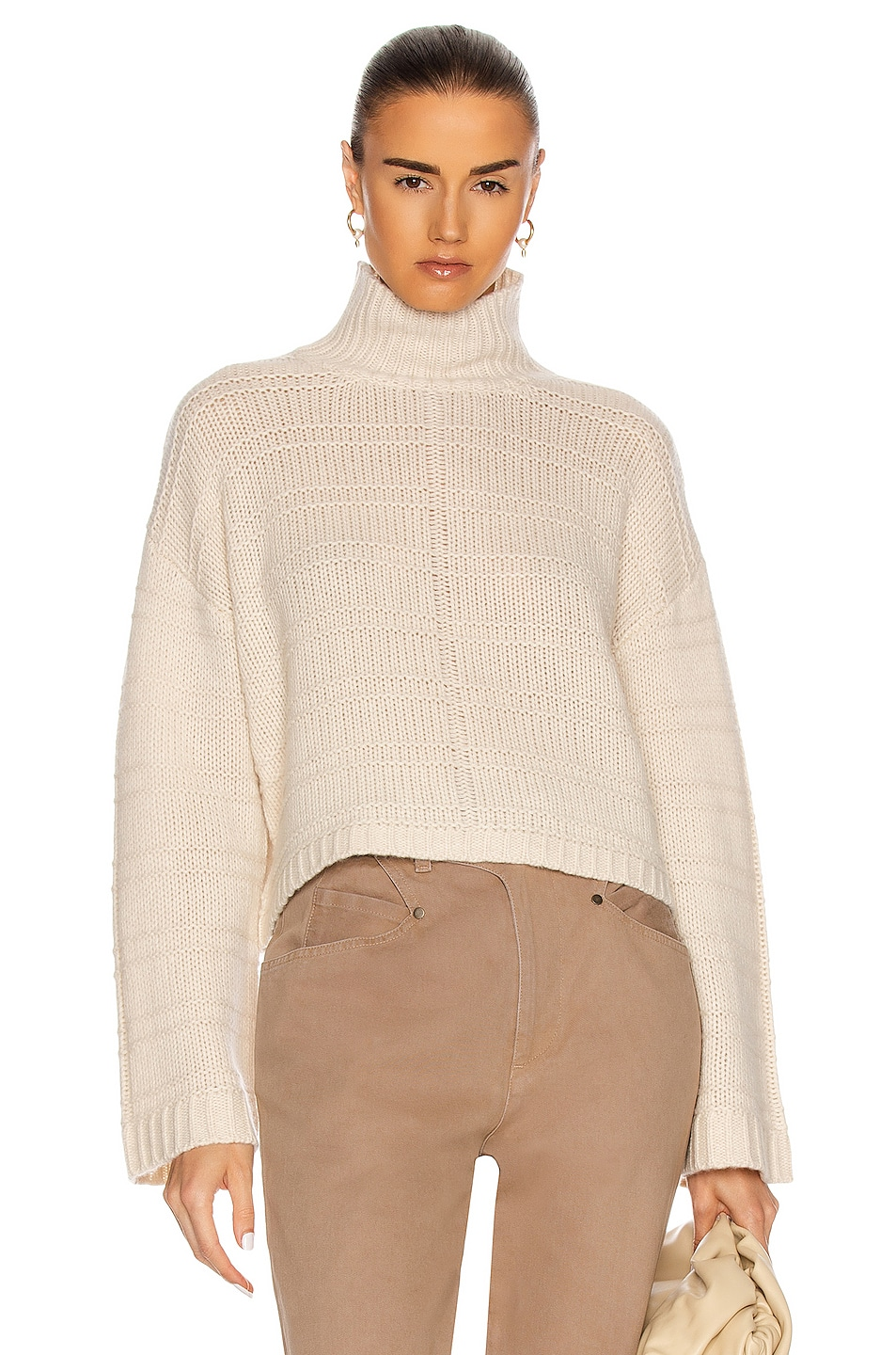 Image 1 of SABLYN Ayden Sweater in Cream
