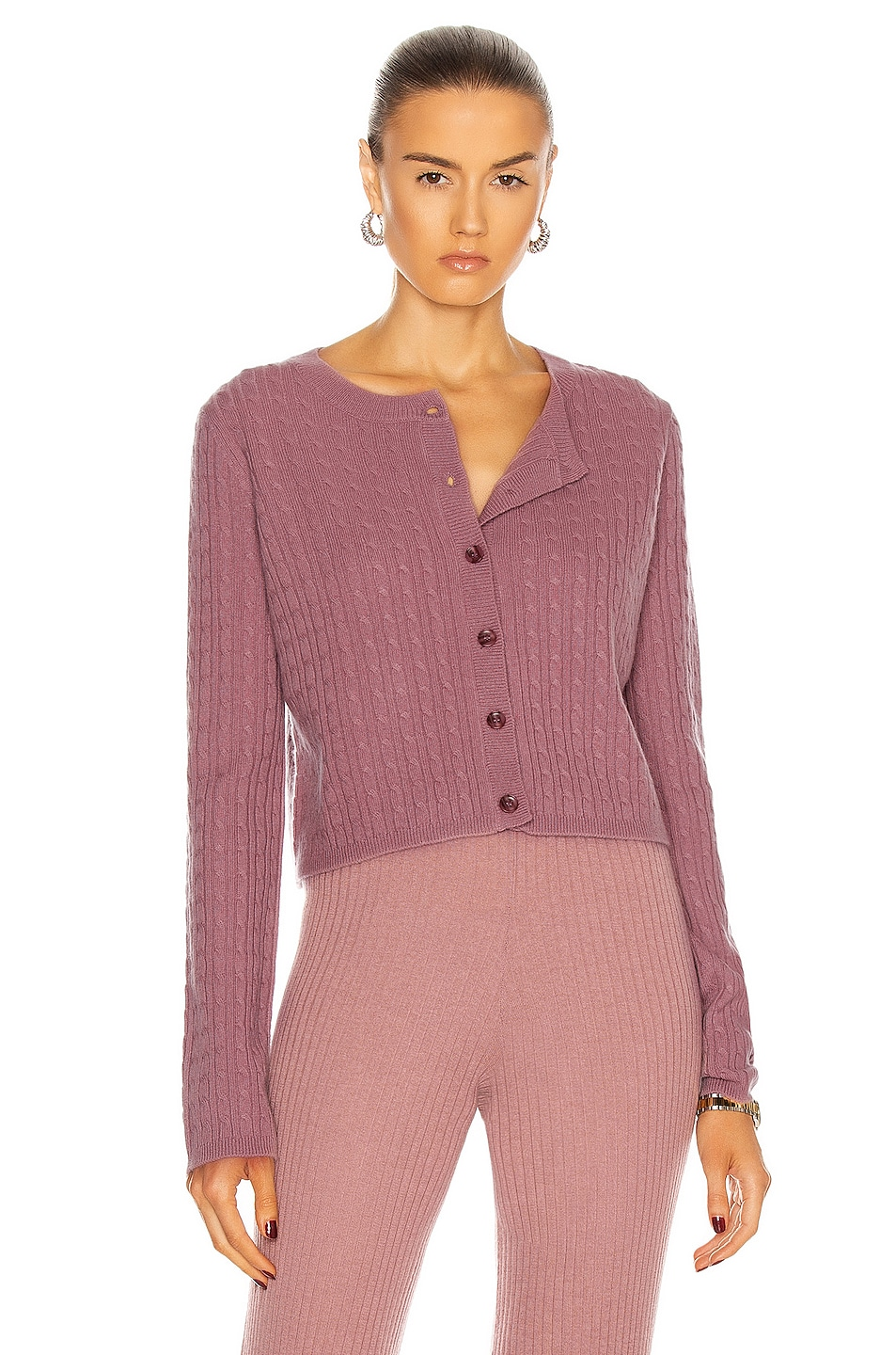Image 1 of SABLYN Cleo Sweater in Rose