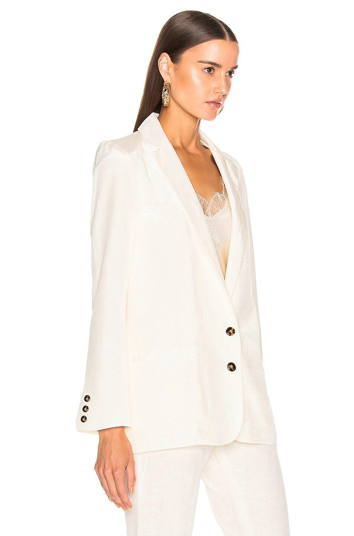 Image 3 of SABLYN Petra Blazer in Winter White