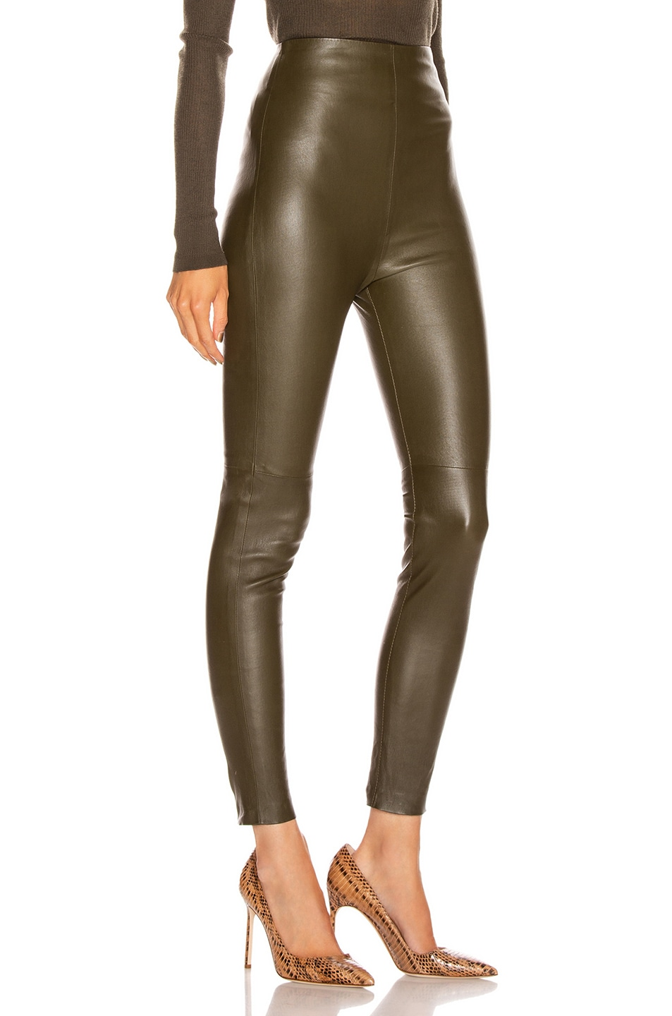Image 2 of SABLYN Jessica Pant in Olive